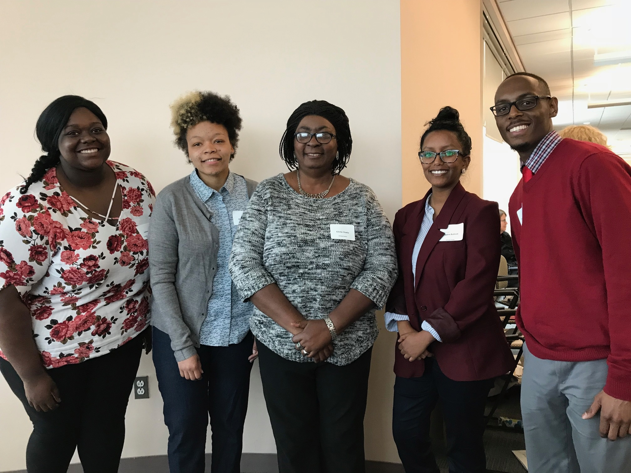 Africana Student Award Winners at the 2018 CAHSS Awards Reception