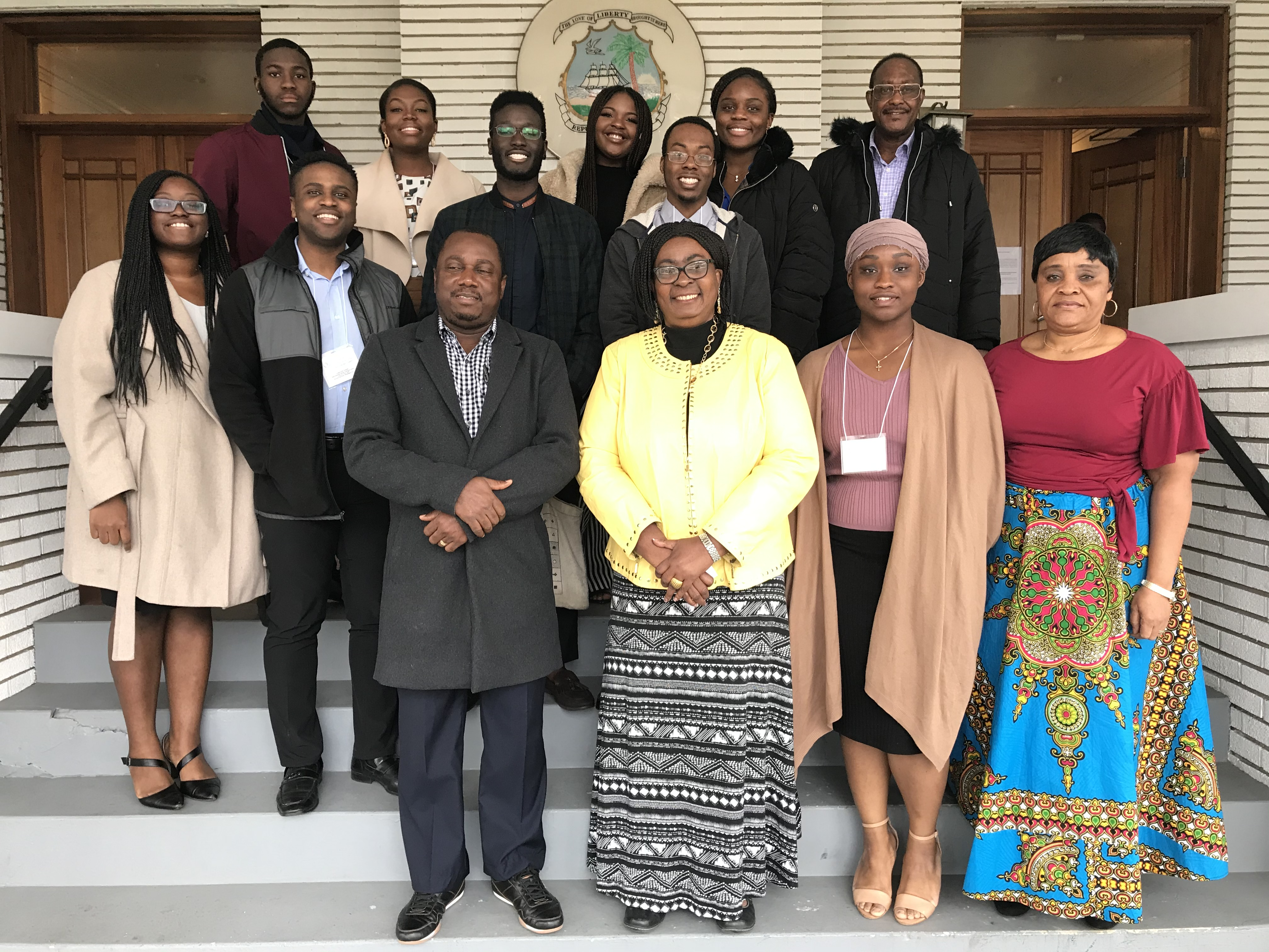 2020 Model African Union, UMBC Award-Winning Delegation
